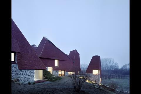 Caring Wood Macdonald Wright Architects with Rural Office for Architecture